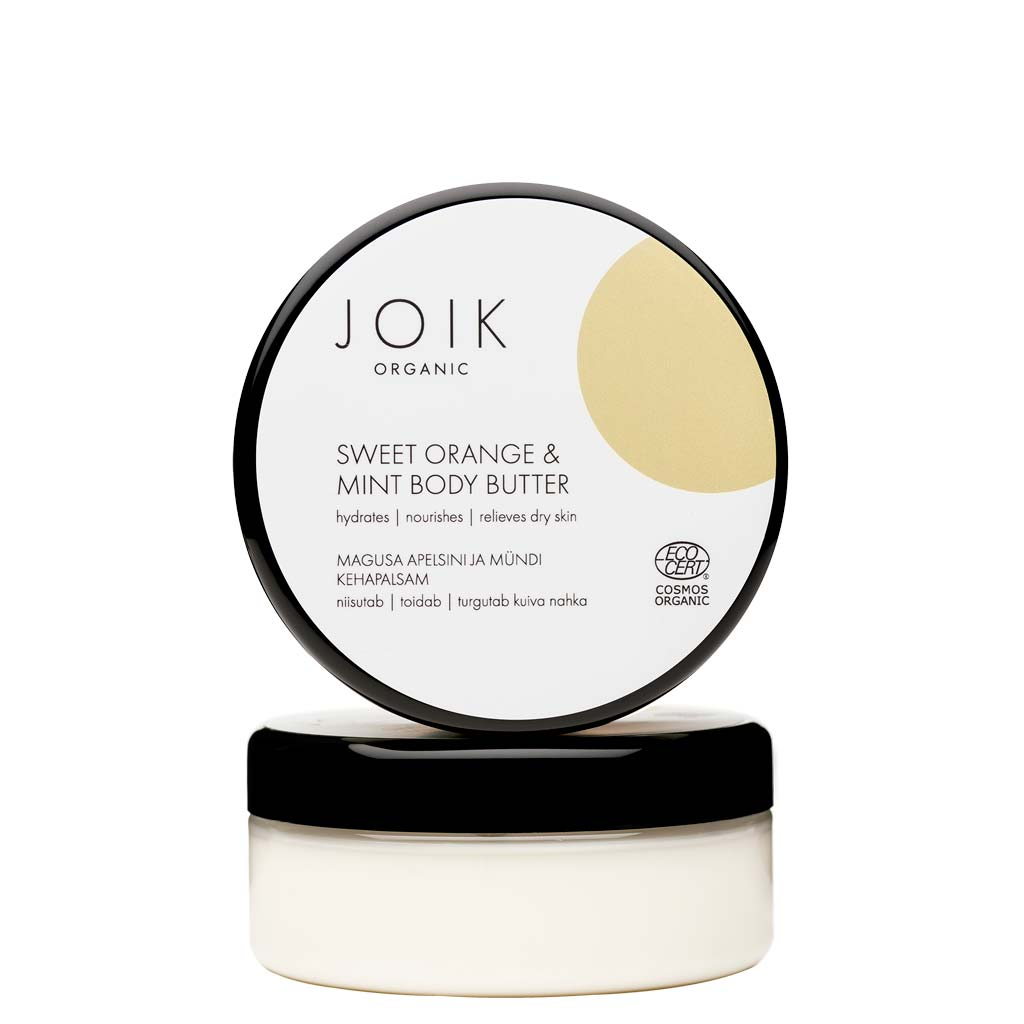 JOIK Organic Sweet Orange & Mint Body Butter - vartalovoi