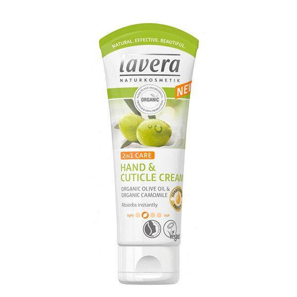Lavera 2in1 Hand and cuticle cream -käsi -ja kynsinauhavoide
