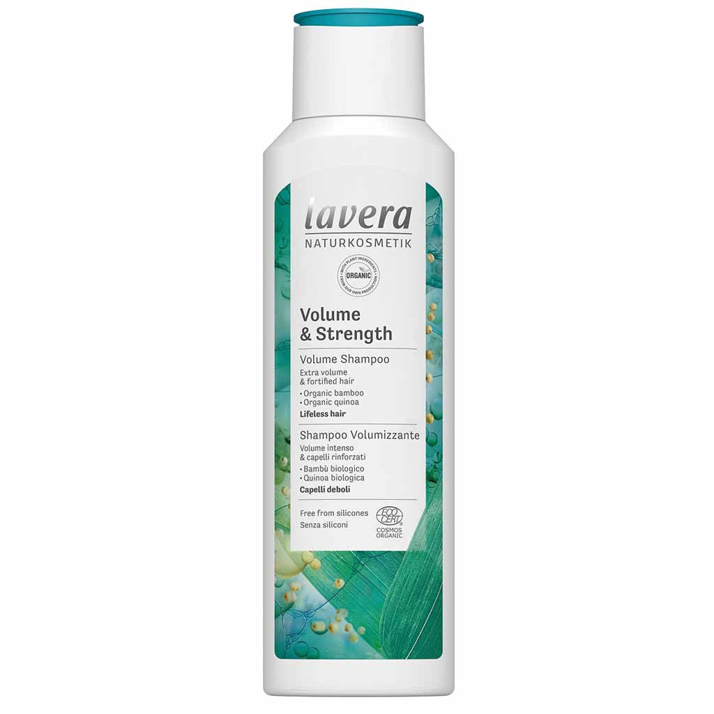 Lavera Volume & Strength shampoo