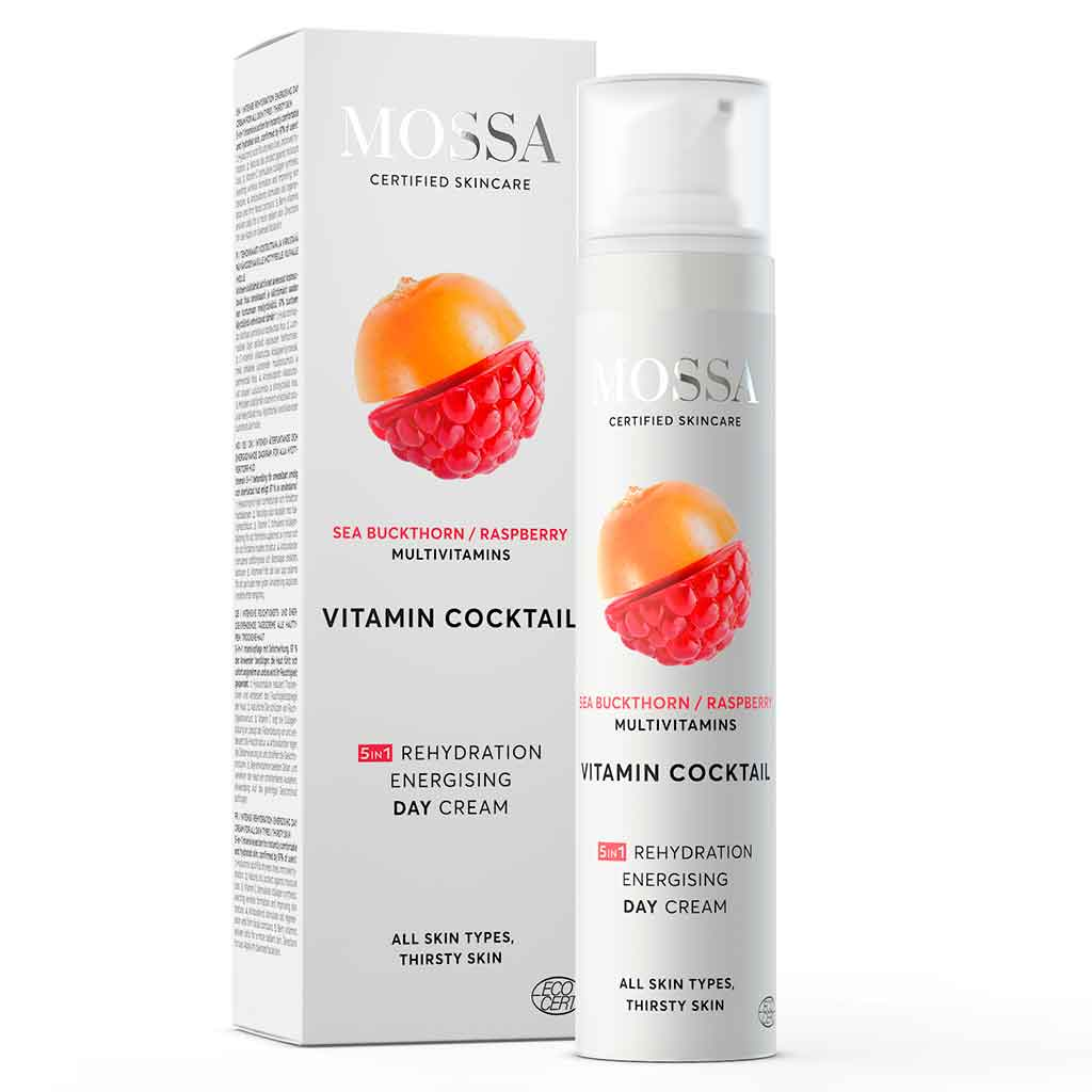 Mossa Intense rehydration energizing day cream - päivävoide