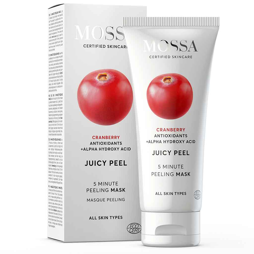 Mossa Juicy Peel 5 Minute Mask Kuorintanaamio