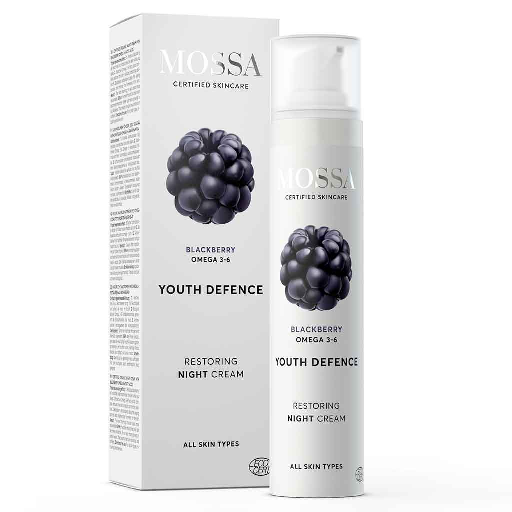 Mossa Restoring night cream - yövoide