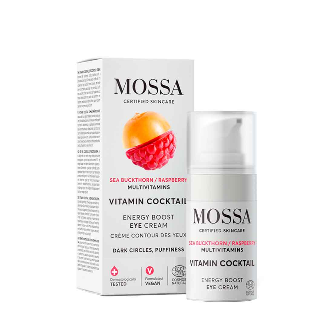 Mossa Vitamin Cocktail Energy Boost Eye Cream Silmänympärysvoide