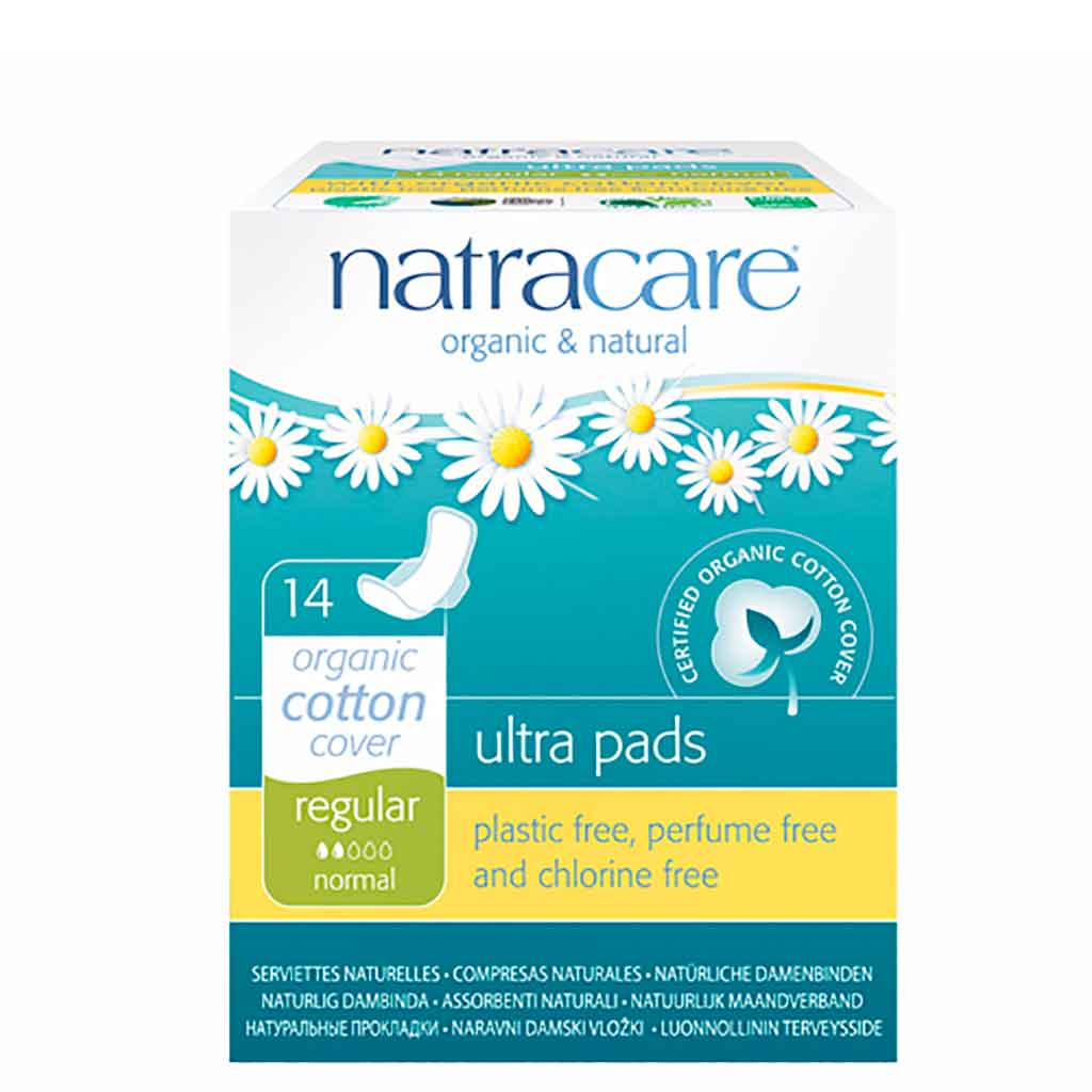 Natracare Ultra Terveysside Regular 14kpl