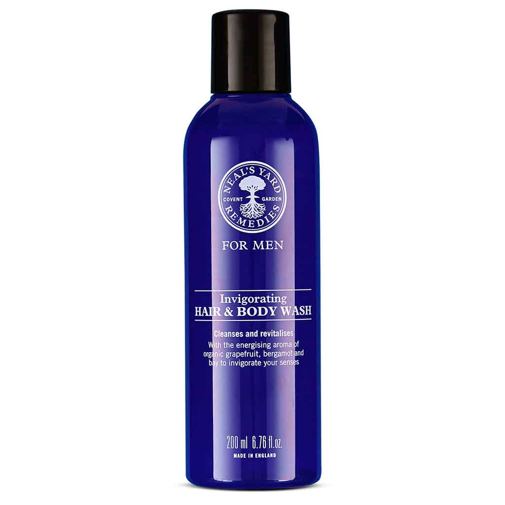 Neal's Yard Remedies MEN Invigorating Hair & Body Suihkugeeli