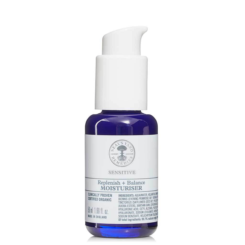 Neal's Yard Remedies Replenish + Balance Moisturiser Kasvovoide 50 ml
