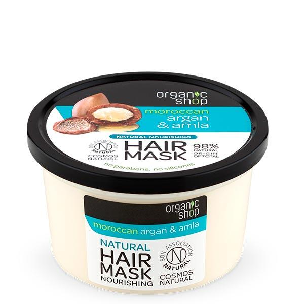 Organic Shop Argan & Amla Nourishing Hair Mask hiusnaamio