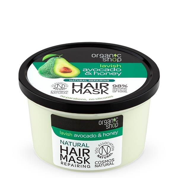 Organic Shop Avocado & Honey Repairing Hair Mask hiusnaamio