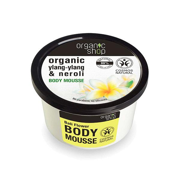 Organic Shop Body Mousse Bali Flower
