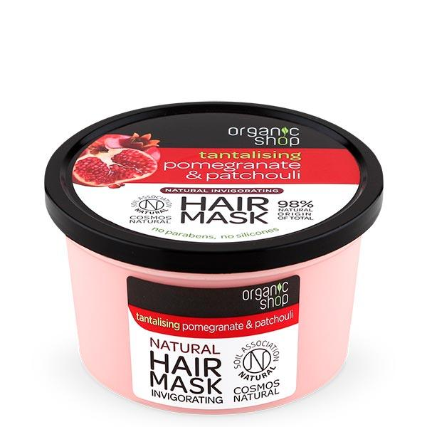 Organic Shop Pomegranate & Patchouli Invigorating Hair Mask hiusnaamio