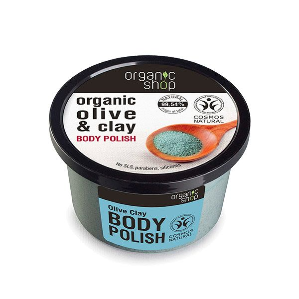 Organic Shop Body Polish Olive Clay