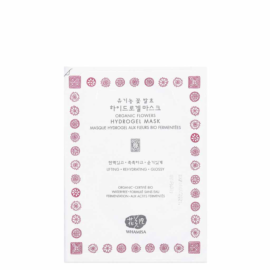 Whamisa Hydro Gel Flowers Sheet Mask
