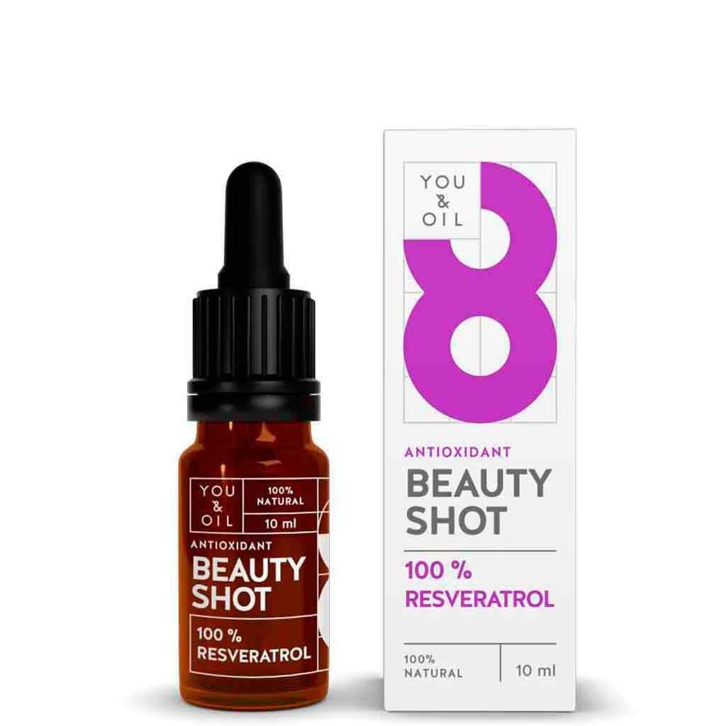 YOU & OIL Beauty Shot 100 % Resveratroli 10 ml