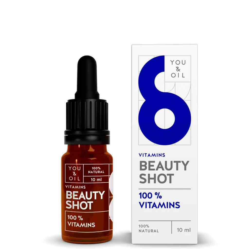 YOU & OIL Beauty Shot 100 % Vitamiinit 10 ml