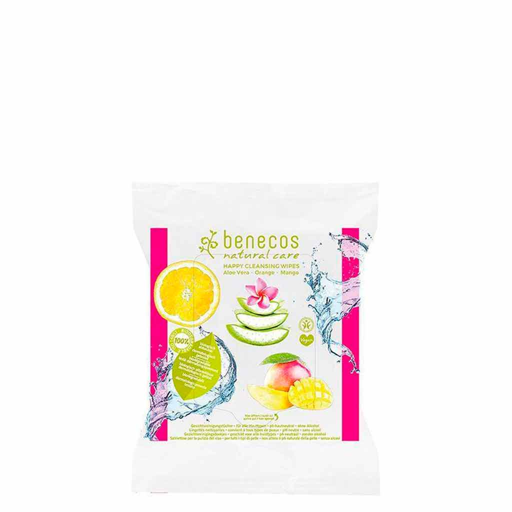 Benecos Happy Cleansing Wipes puhdistuspyyhkeet