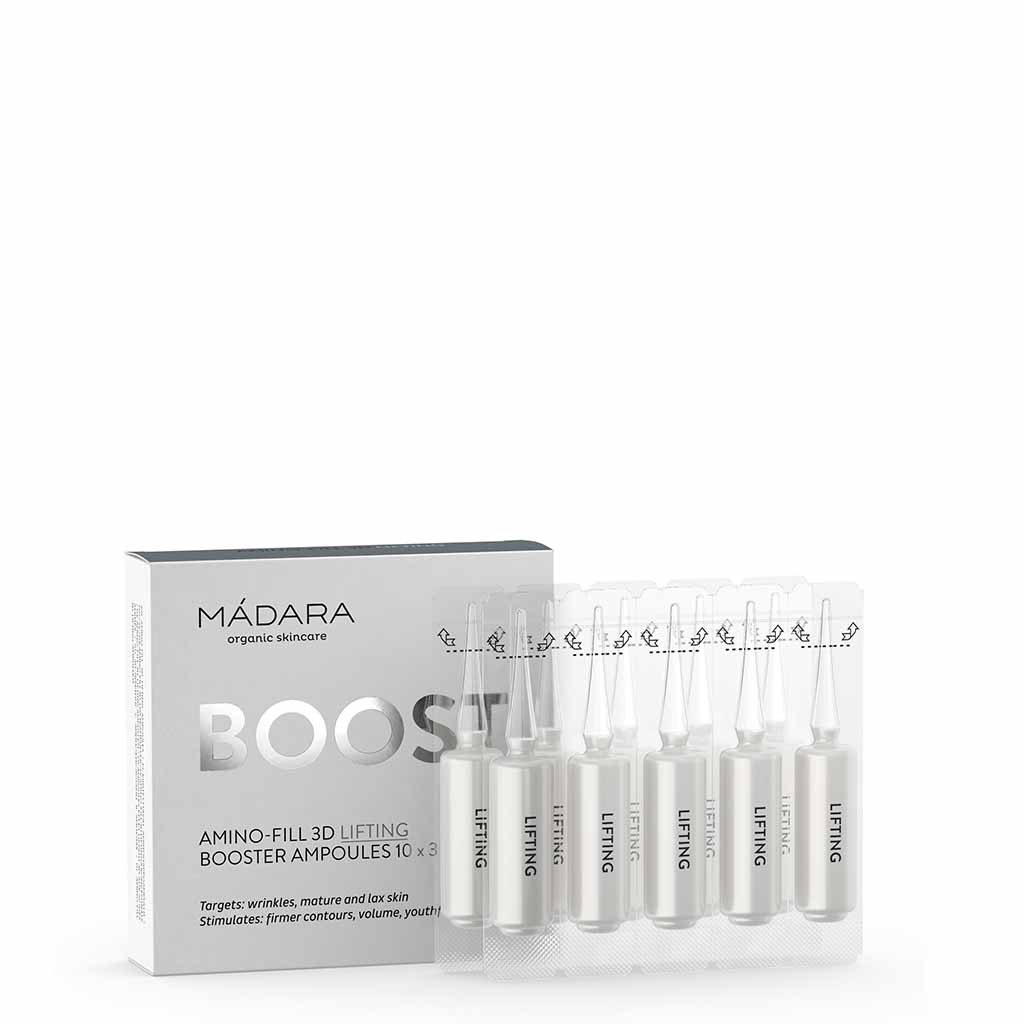 Madara Amino-Fill 3D Lifting Booster Ampoules 10 x 3 ml
