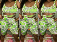 """Slime"" Two Piece Set"