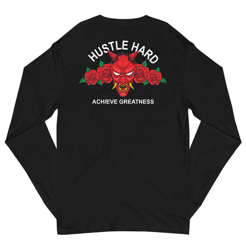 Champion Edition Hustle Hard Oni Long Sleeve Shirt