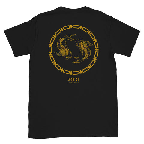 Koi Energy Premium Tee (Black & Gold)