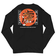 Champion Edition Tiger Long Sleeve Shirt (Black)