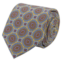 Tie I Silk Tropea I Yellow