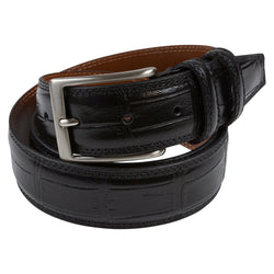 BELT I CROCO I BLACK