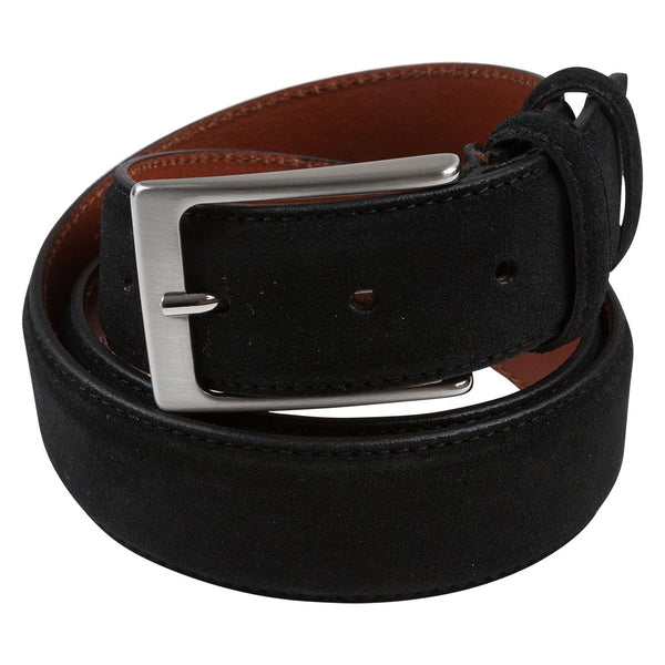 BELT I SUEDE I BLACK