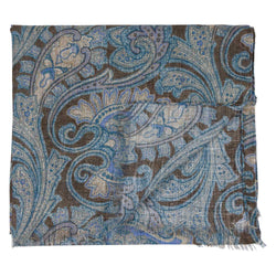 SCARF I COTTON LINEN I BROWN