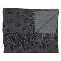 WOOL SCARF GREY