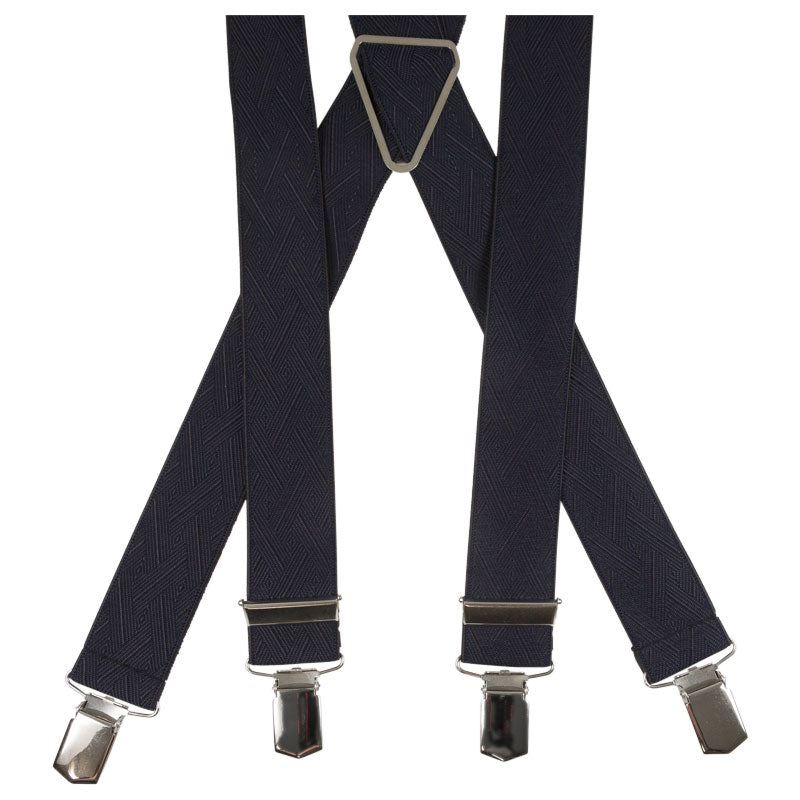 SUSPENDERS I SOLID I BLACK - Portia 1924