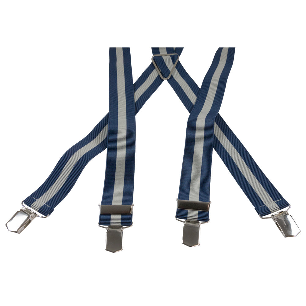 SUSPENDERS I STRIPE I LIGHT BLUE - Portia 1924