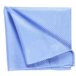 POCKET SQUARE I SILK I LIGHT BLUE