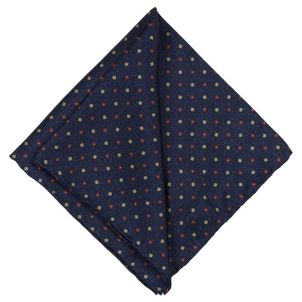 POCKET SQUARE I SILK I BLUE - Portia 1924