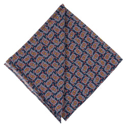 Pocket Square I Silk Tropea I Blue