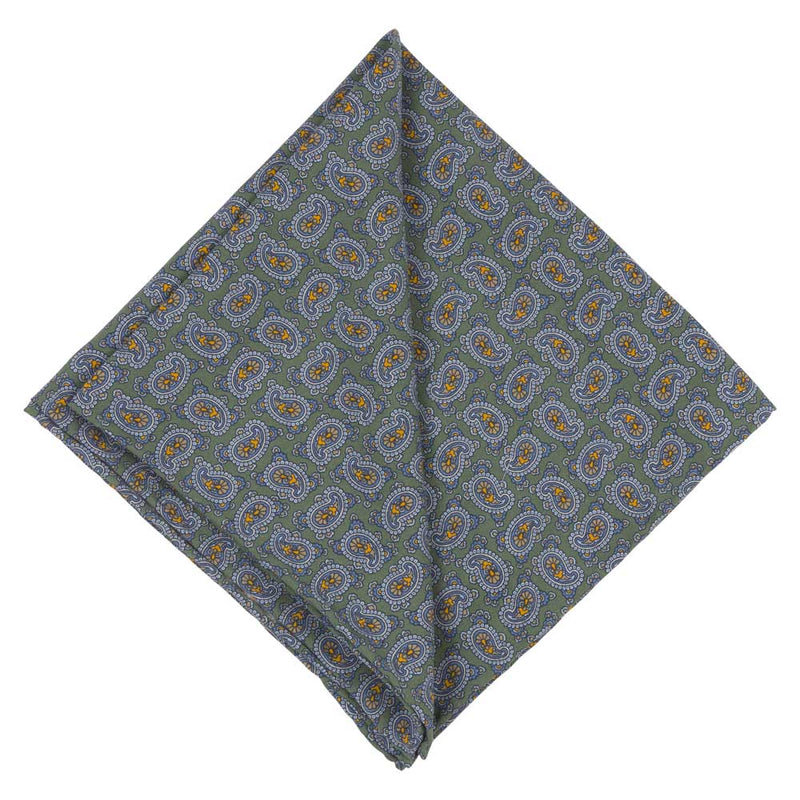 Pocket Square I Silk Tropea I Green