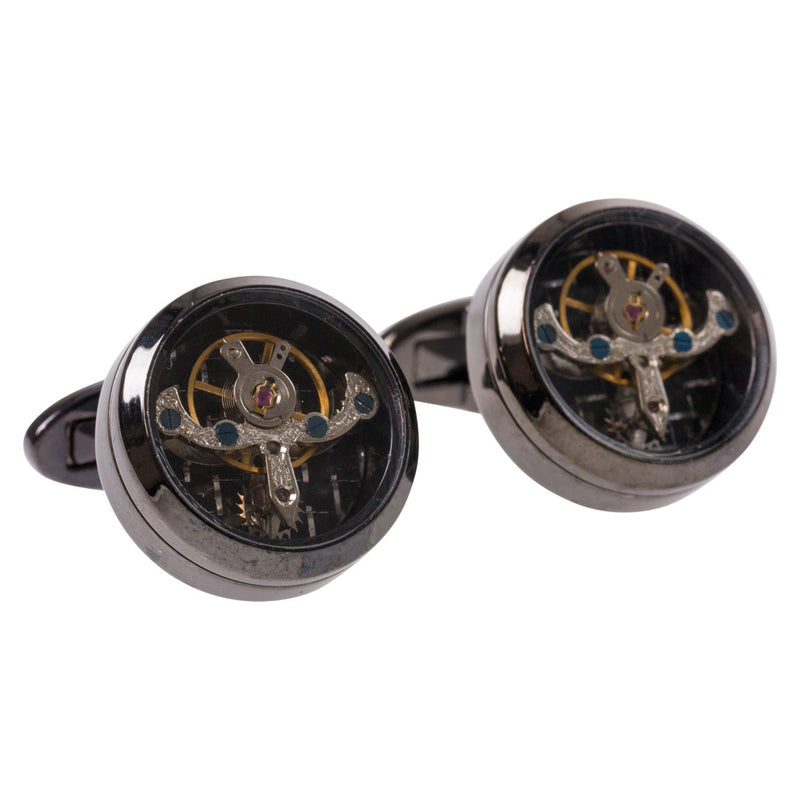 CUFFLINKS I CLOCKWORK - Portia 1924