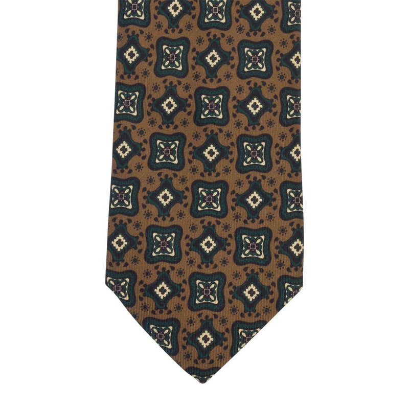 BROWN TIE SILK PERLA