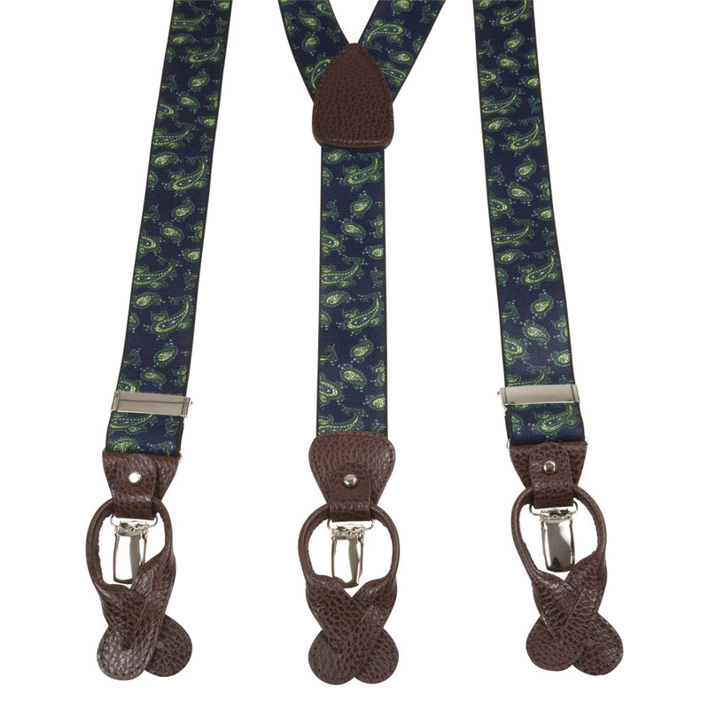 SUSPENDERS I EXCLUSIVE I BLUE - Portia 1924