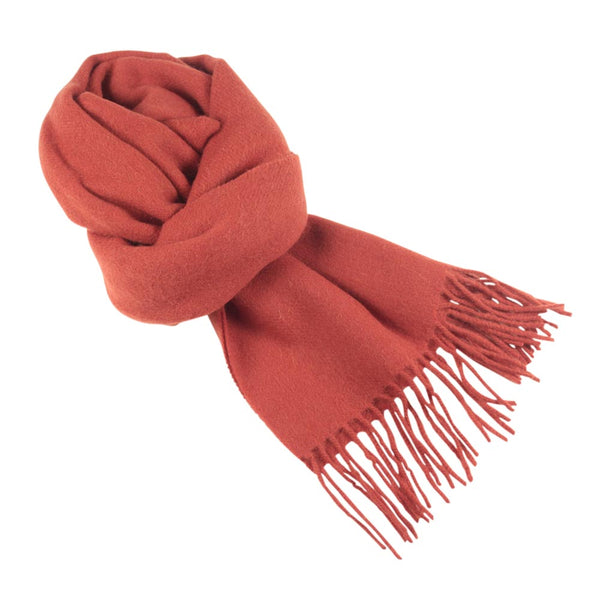 SCARF I WOOL I ORANGE - Portia 1924