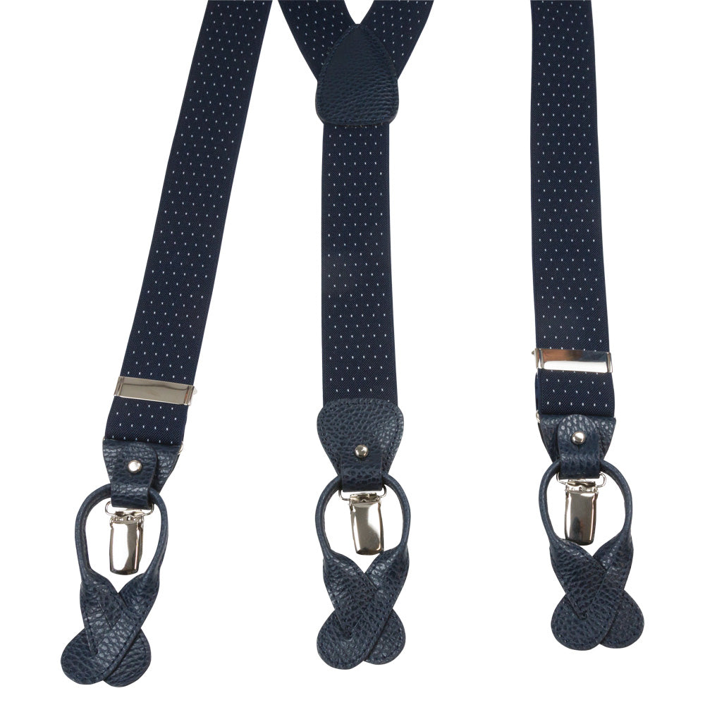 SUSPENDERS I EXCLUSIVE I NAVY - Portia 1924