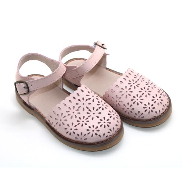 PREORDER: Artisan Leather Sandals - handmade from 100% genuine leather - pink or chestnut