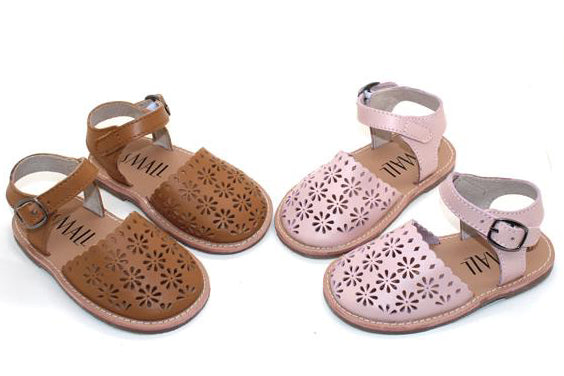 Frankie Artisan Leather Sandals - handmade form 100% genuine leather - only size AU6 left