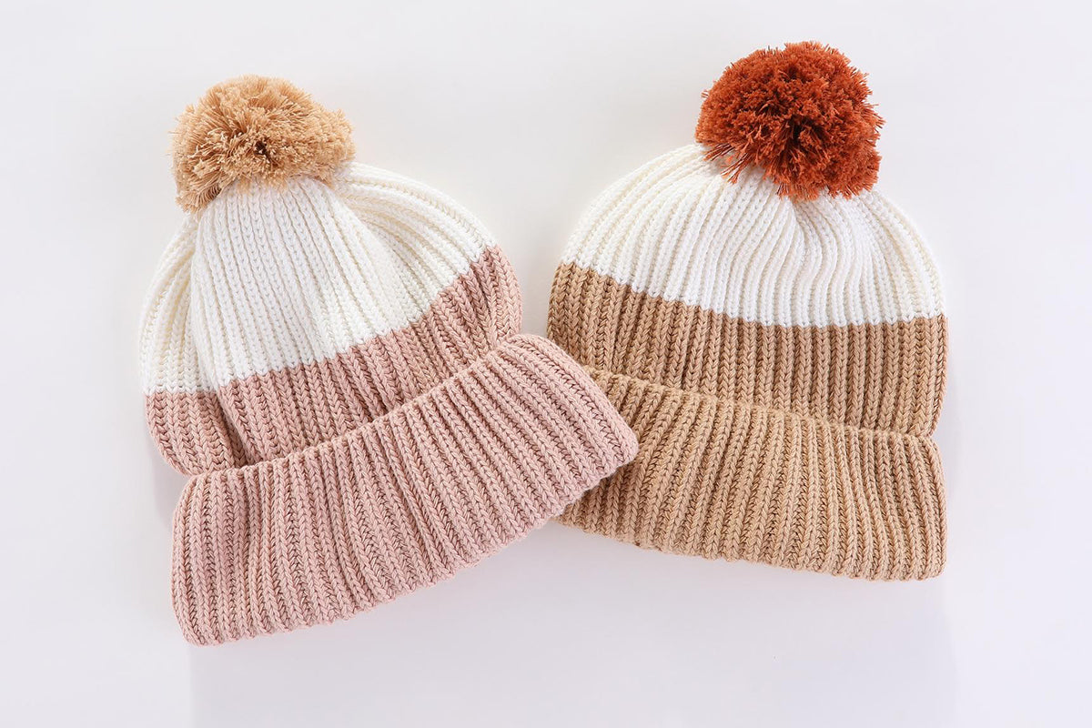 Aspen Beanie: cream or dusty - preorder