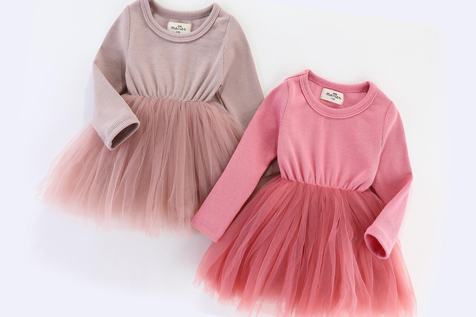 PREORDER: WINTER EDITION: Valentina Tutu Dress: dusty pink or rose