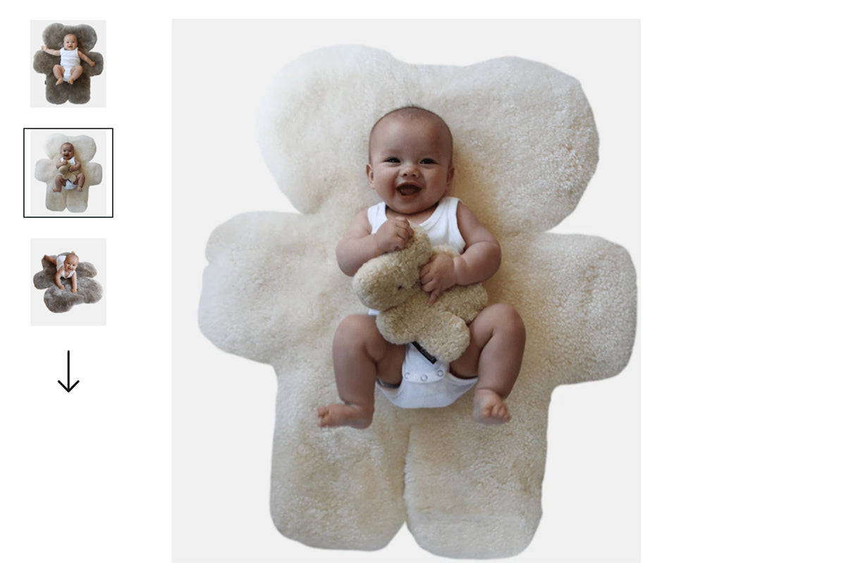 FLATOUT bear - made from 100% australian sheepskin