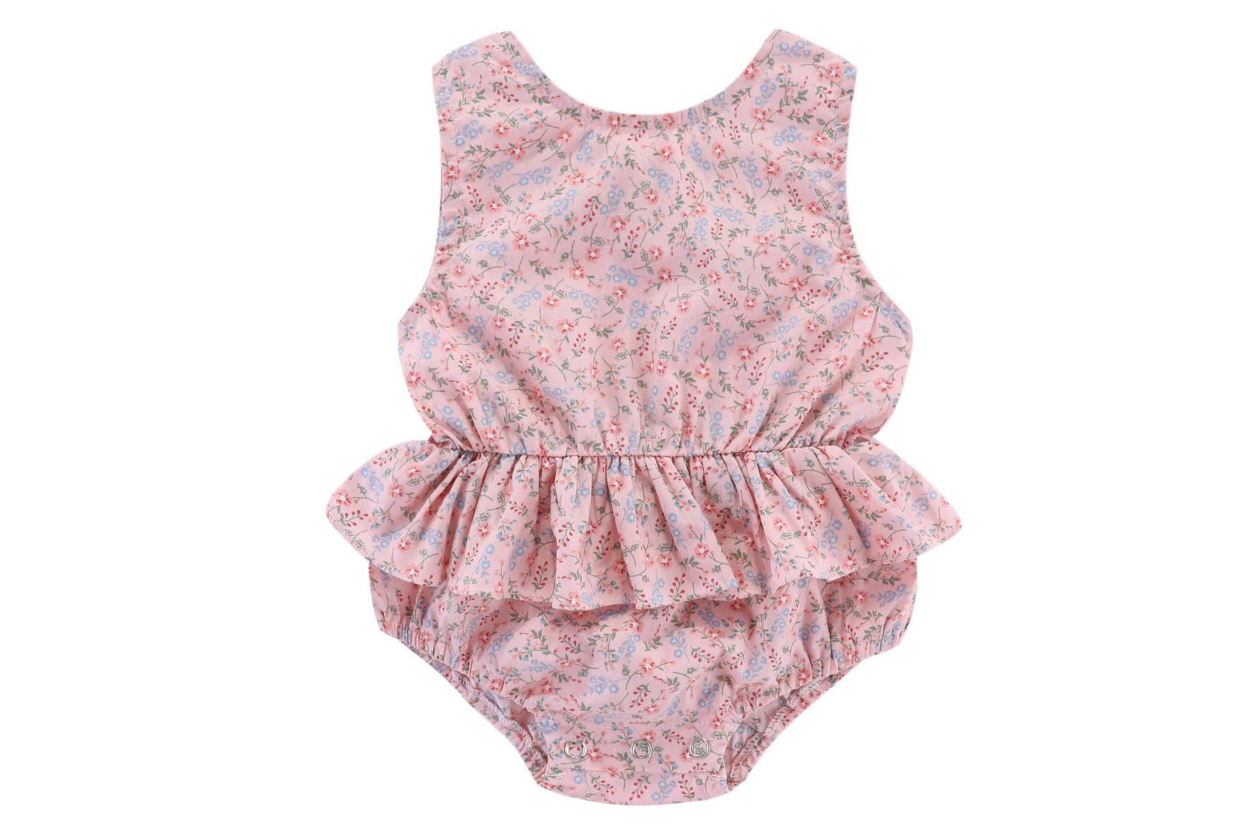 Pontine romper: 0-3M, 3-6M, 6-12M ONLY LEFT
