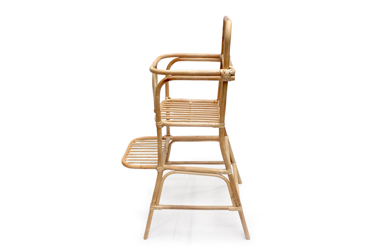 Suoki Rattan Feeding Chair + Cushion