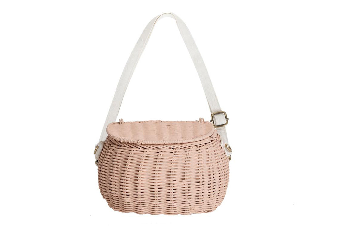 Mini Chari Bag - Rose or white