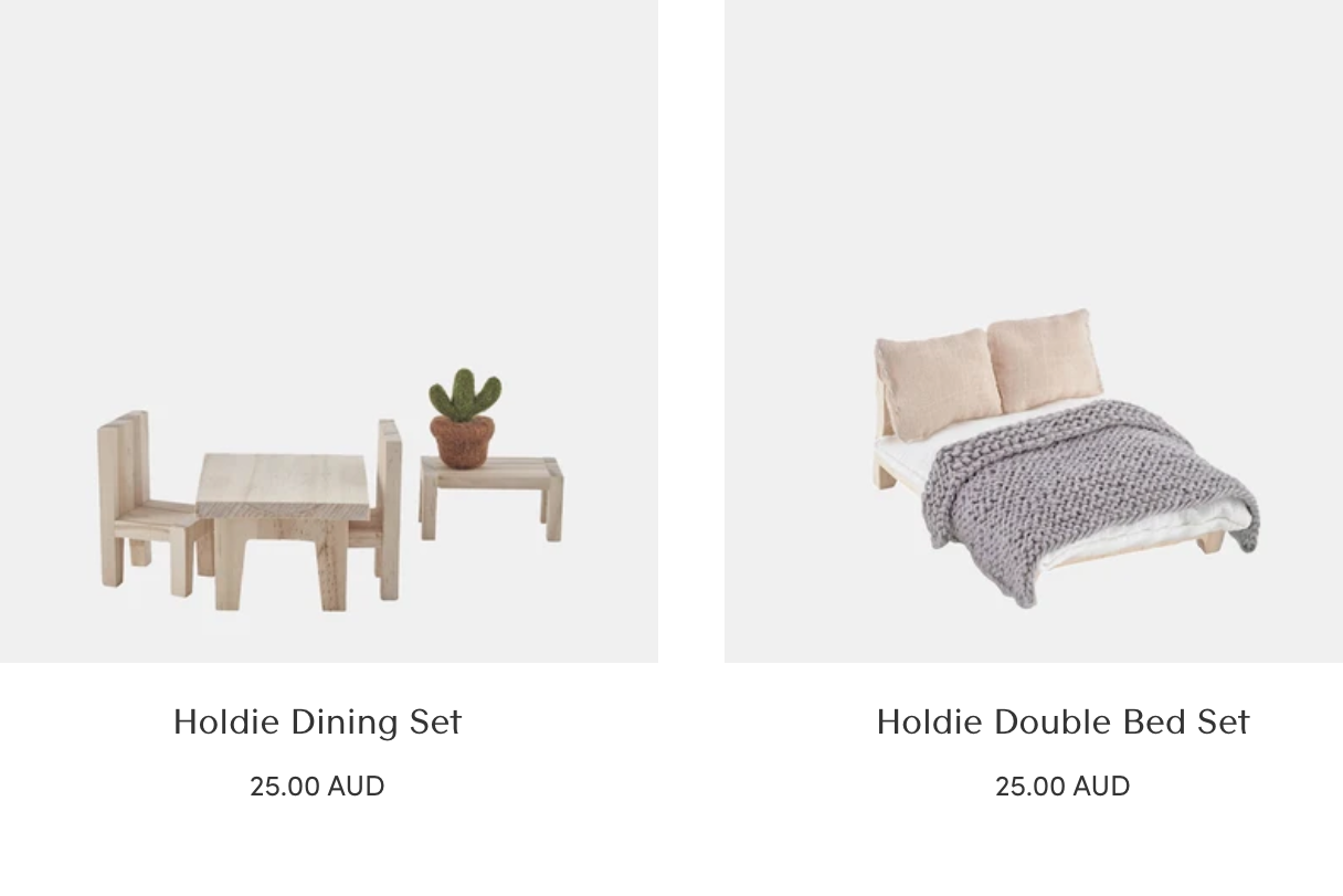 Holdie House Furniture: Holdie Living Room Set, Holdie Single Bed Set, Holdie Double Bed Set, Holdie Dinning Set