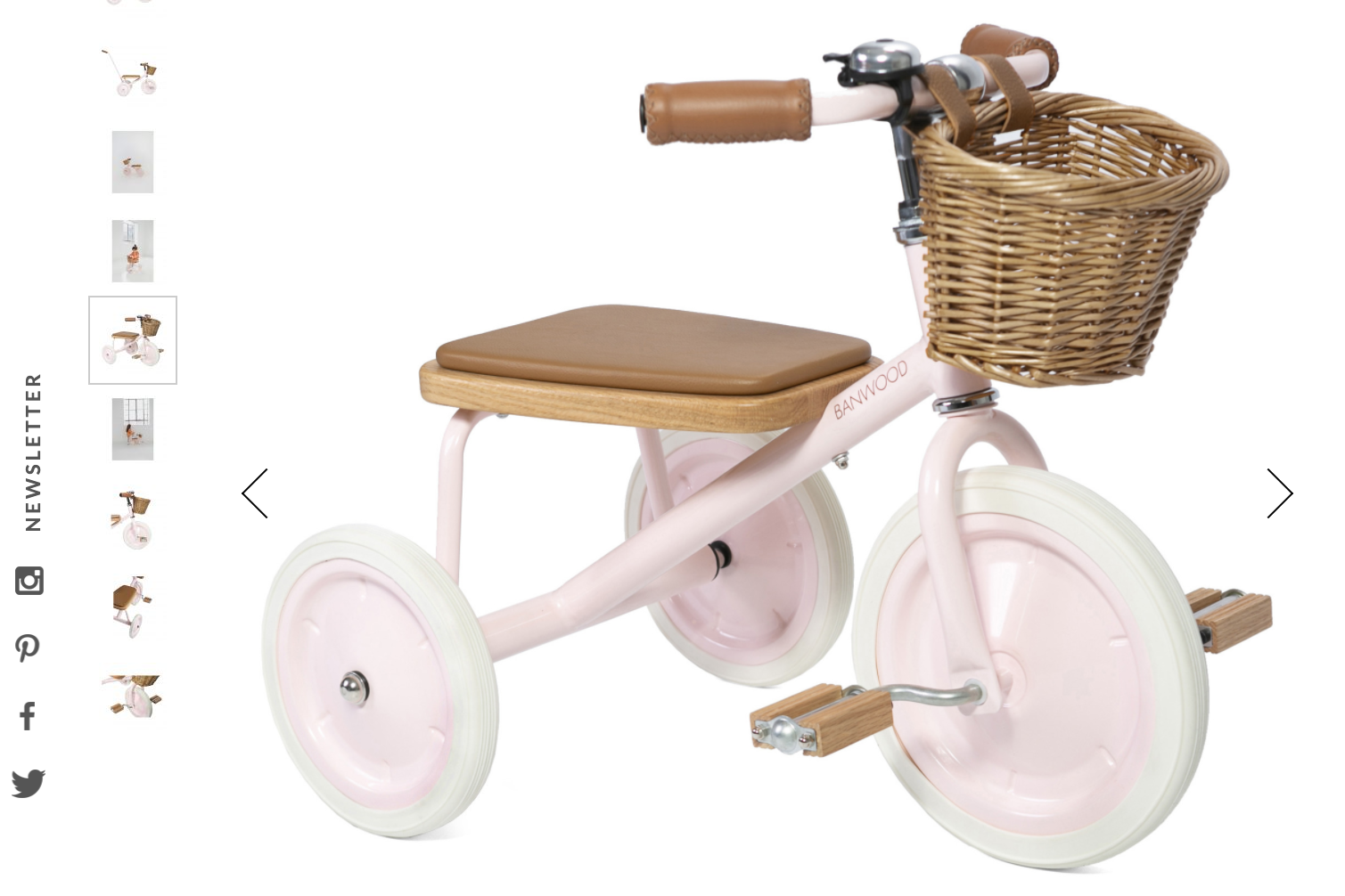 Banwood Metal and Wooden Tricycle